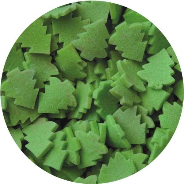 Zuckerkonfetti Weihnachtsbaum ca.9mm 2000g