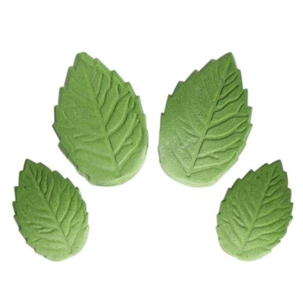 Feinzucker Rosenblätter Grün