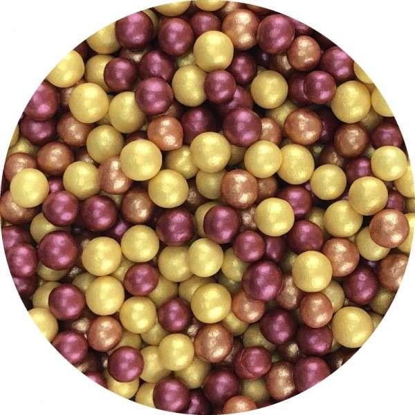 Zucker Perlen Mix Metallic ca.4mm 950g