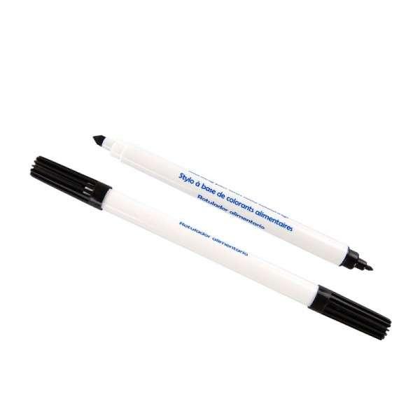 Stift mit Lebensmittelfarben SCHWARZ
