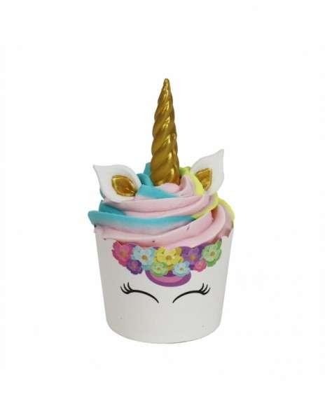 Cupcake Dekoration Einhorn