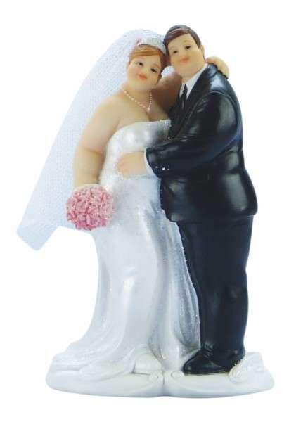 Brautpaar pummelig