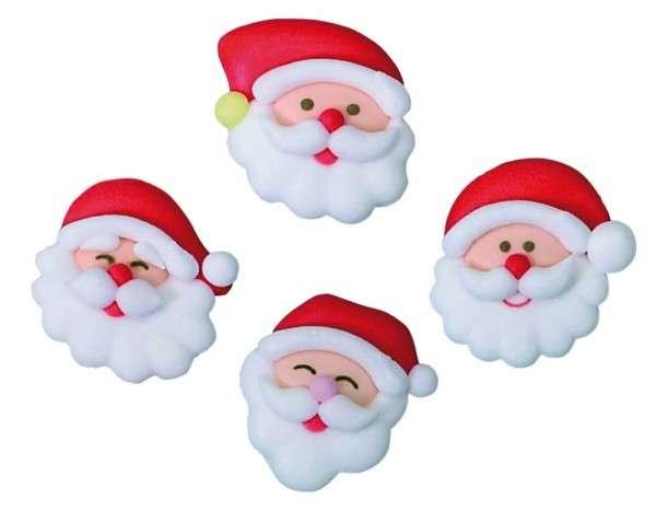 Zuckerdekoration Weihnachtsmann