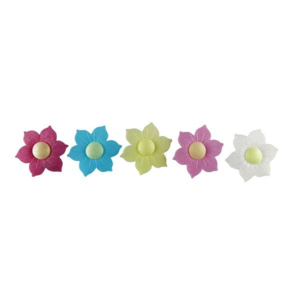 Tortendekoration Esspapier Blüten Narzisse 45mm 100Stck