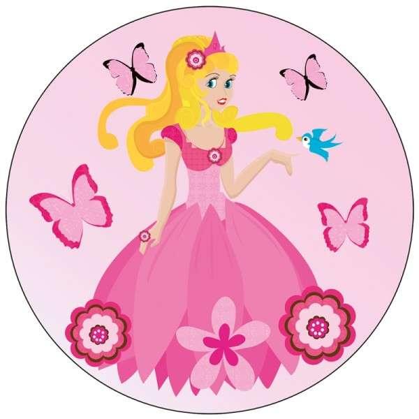 """Zuckeraufleger 10 cm """"Prinzessin"""" SB-1-120003"""
