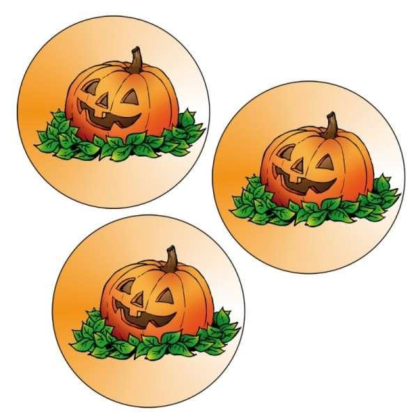"Esspapieraufleger""Halloween Kürbiss""4cm 96Stück"