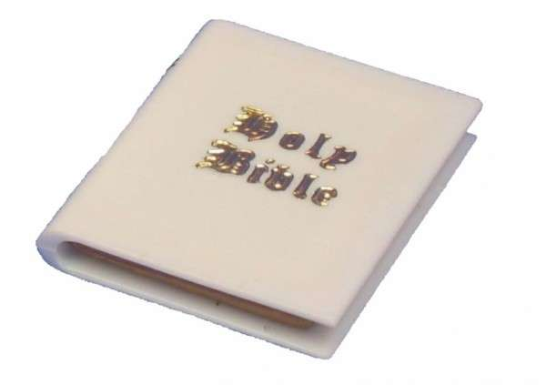 Tortendeko Bibel klein ca.45x35 mm 48 Stck