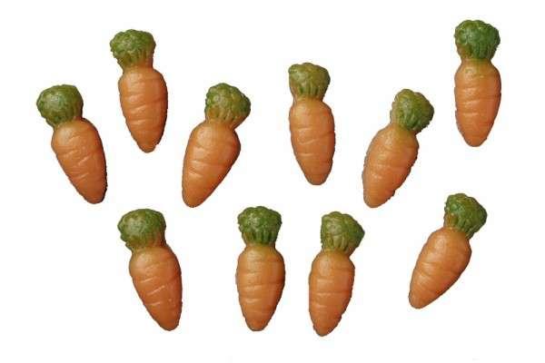 Karotten Rübli Marzipan klein 21mm 600 Stck