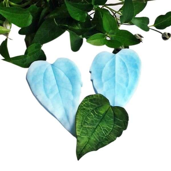 "Veiner ""Clematis Blatt"" (Clematis, leaf) ca.5 x 8 cm"