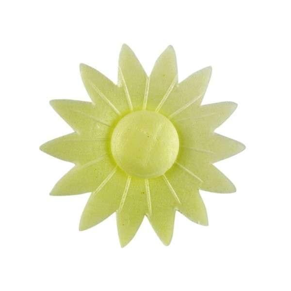 Esspapier Margerite gelb 45mm 100Stck
