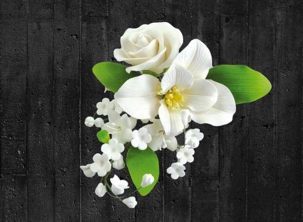 Zuckerblumenboquet Lilie