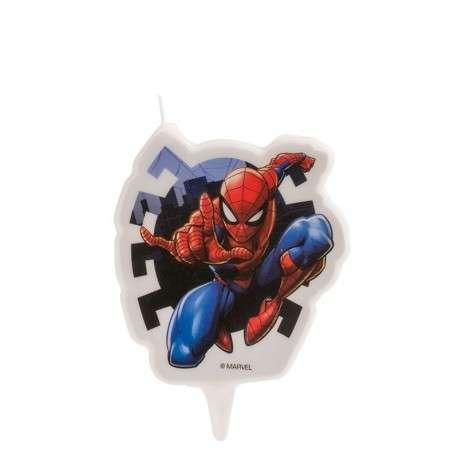 Spiderman Kerze 7,5cm